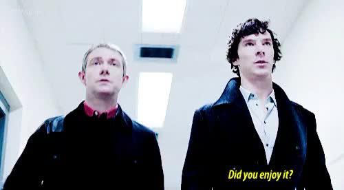 Watch and share Sherlock Holmes GIFs and Mr Cumberbatch GIFs on Gfycat