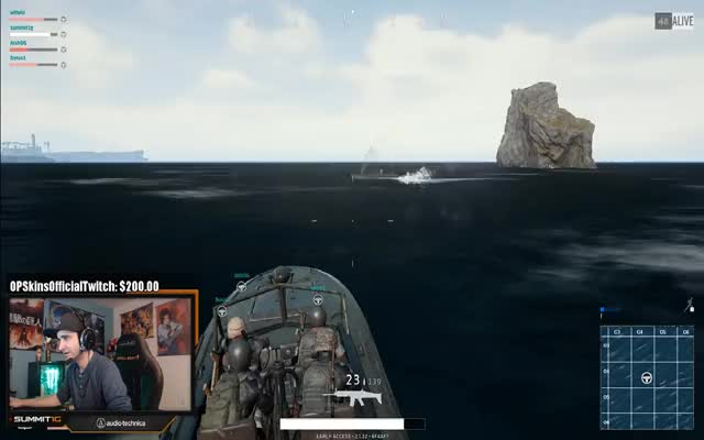 Summit1G Squad Games Boat Kill