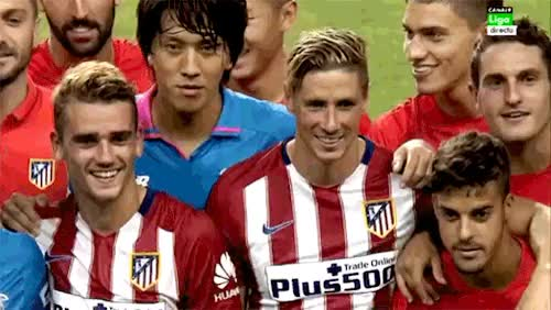 Watch and share Atletico De Madrid GIFs and Antoine Griezmann GIFs on Gfycat
