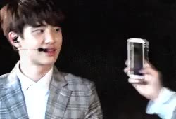 Watch and share Do Kyungsoo GIFs and Lhnvvoedit GIFs on Gfycat