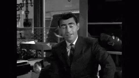 Watch and share The Twilight Zone GIFs and Rod Serling GIFs on Gfycat