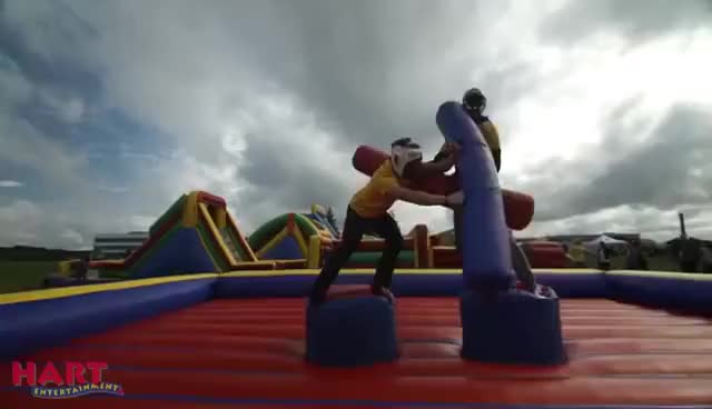 Watch Gladiator Joust GIF on Gfycat. Discover more related GIFs on Gfycat