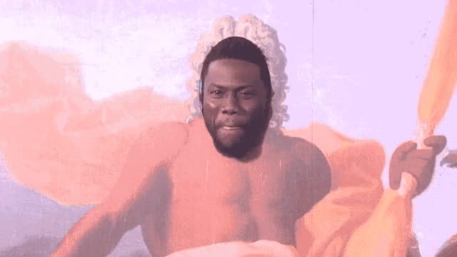 Watch this kevin hart GIF by GIF Queen (@ioanna) on Gfycat. Discover more art, birthday, ellen, funny, ha, haha, hart, hilarious, joke, kevin, laugh, lol, loud, of, out, paint, painting, piece, present, surprise GIFs on Gfycat