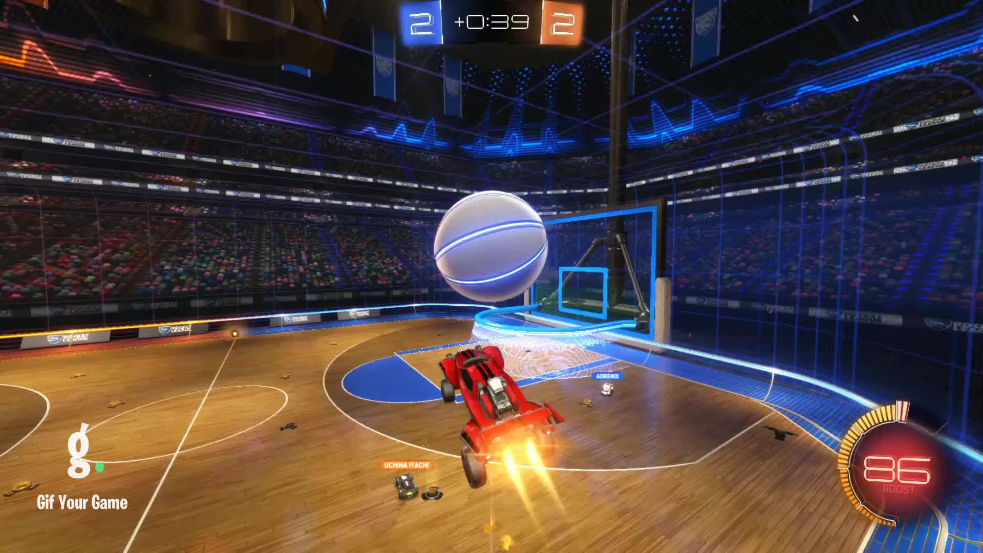 Gif Your Game, GifYourGame, Hellcat, Rocket League, RocketLeague, Shot, Shot 14: Hellcat GIFs
