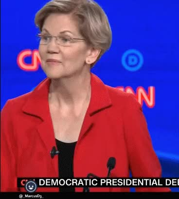 Watch and share Elizabeth Warren GIFs and Politics GIFs by MarcusD on Gfycat