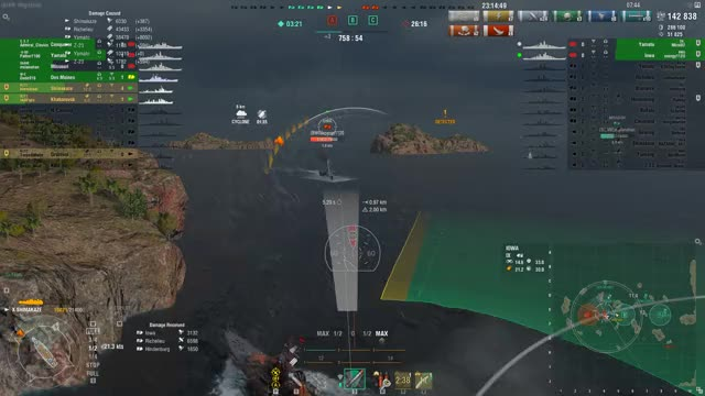 Watch World of Warships 2018.09.15 - 23.15.20.04.DVR GIF on Gfycat. Discover more worldofwarships GIFs on Gfycat
