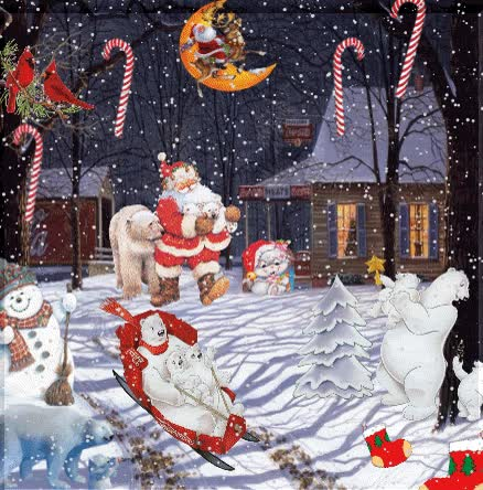 Watch and share Santa Claus GIFs on Gfycat