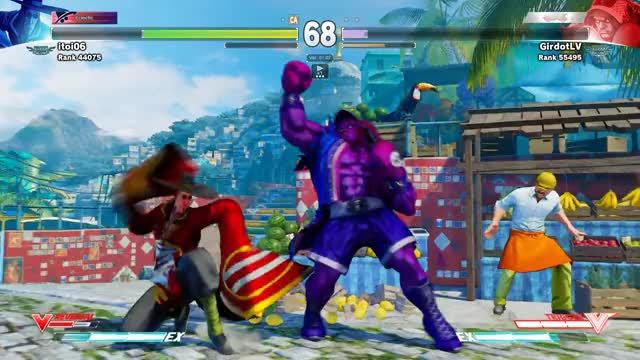 Watch Street Fighter V Ranked Match 07/29/2016 - Girdot (Boxer) vs. Itoi06 (F.A.N.G) GIF on Gfycat. Discover more streetfighter GIFs on Gfycat