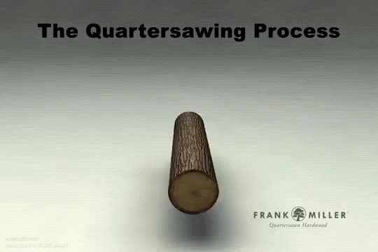 Watch The Quartersawing Process GIF on Gfycat. Discover more milling, sawing, wood GIFs on Gfycat