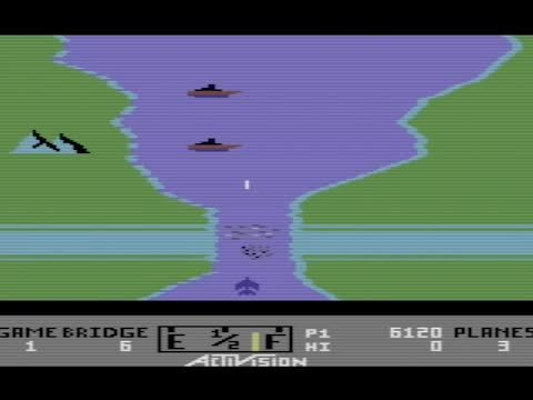gaminggifs, River Raid - Commodore 64 GIFs
