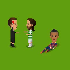 Watch and share Argue-Referee GIFs by Pixel Soccer on Gfycat