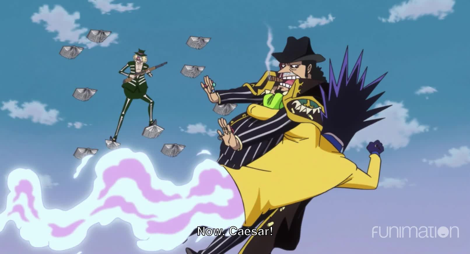 anime, ep842, funimation, funny, one piece, one piece episode 842, onepiece, saga of tanya the evil, Fast Coward GIFs