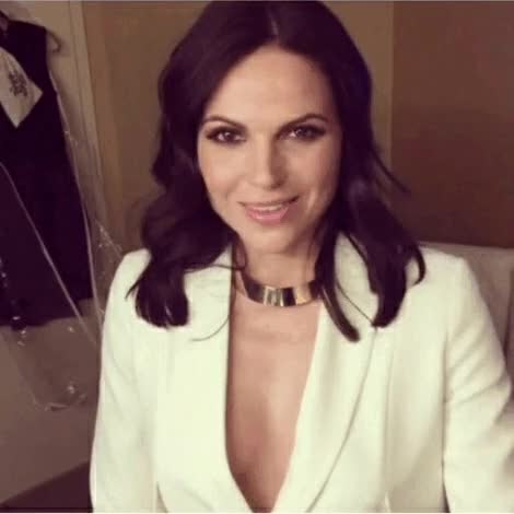 Watch and share Lana Parrilla GIFs and Wink GIFs on Gfycat