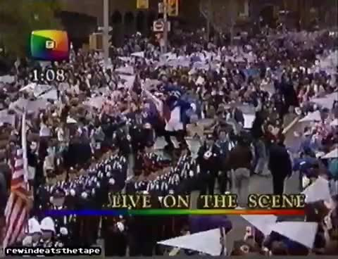 Watch and share Toronto Blue Jays 1992 World Series Jays Day Parade GIFs on Gfycat