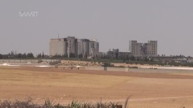 Watch Coalition airstrikes on Manbij grain silos GIF on Gfycat. Discover more smart, سمارت, سوريا GIFs on Gfycat