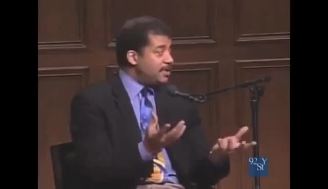 """Watch """"Oblate, pear shaped""""  Neil deGrasse Tyson 