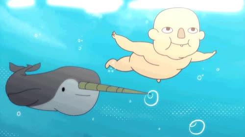 Watch Oh Murphy..... always tryna eat those babies Watch Fin Punch here!  GIF by Cartoon Hangover (@cartoonhangover) on Gfycat. Discover more Frederatorblog, cartoonhangover, finpunch, gif, lol, narwhal, nirvana GIFs on Gfycat