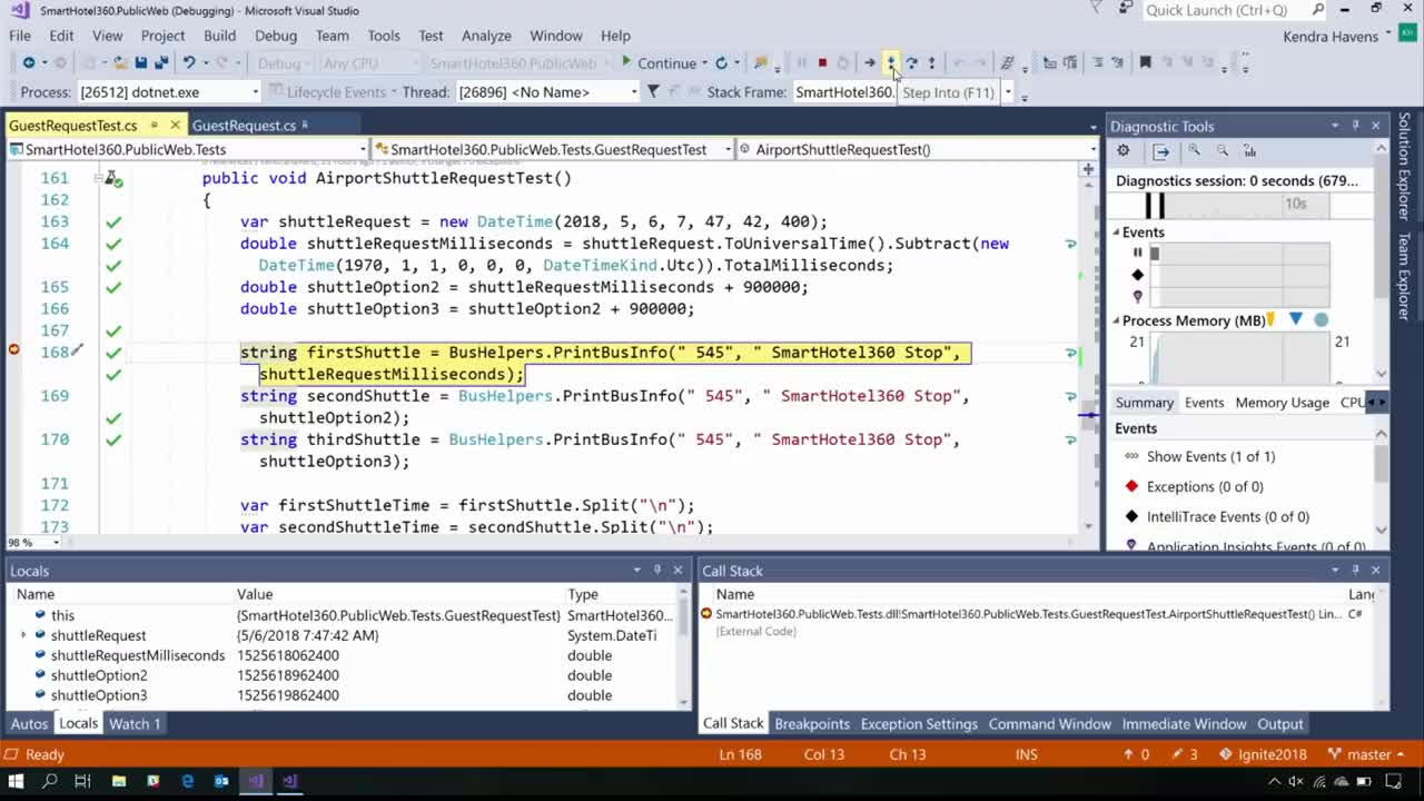 S105 - Latest Productivity Updates in Visual Studio 2017 Update 15.8 GIFs