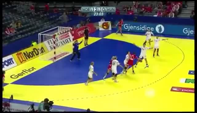 Watch and share Women Handball GIFs and Anja Edin GIFs on Gfycat