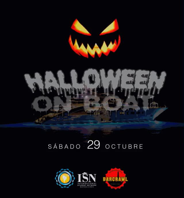 Watch and share Halloween Party Gif GIFs and Barcrawl GIFs by Jairo Andres Rivera on Gfycat