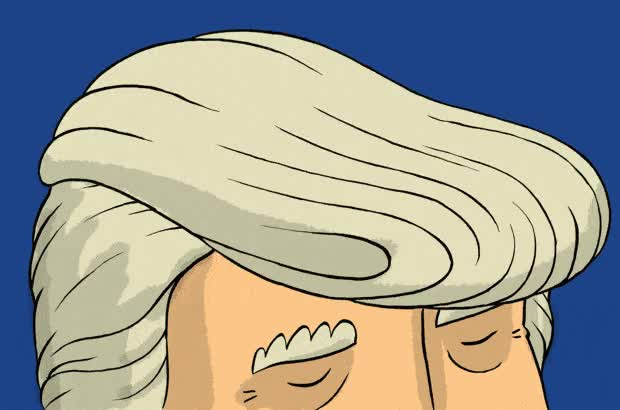 Watch and share Donal Trump Brain Control Animated GIFs on Gfycat
