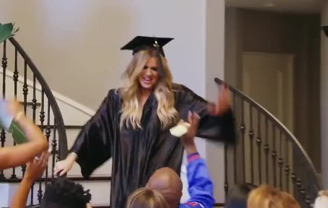 Watch this curated GIF by GIF Factory (@giffactory) on Gfycat. Discover more awesome, celebrate, five, graduate, graduation, great, happy, high, high5, kardashians, keeping, made, party, perfect, the, up, we, with, wow, yes GIFs on Gfycat