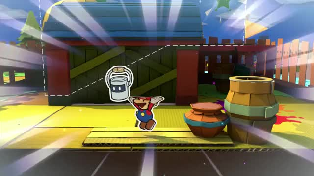 Watch and share Color Splash GIFs and Paper Mario GIFs by Quilly on Gfycat