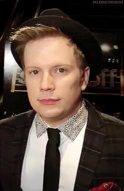 Watch and share He's So Adorable GIFs and Patrick Stump GIFs on Gfycat