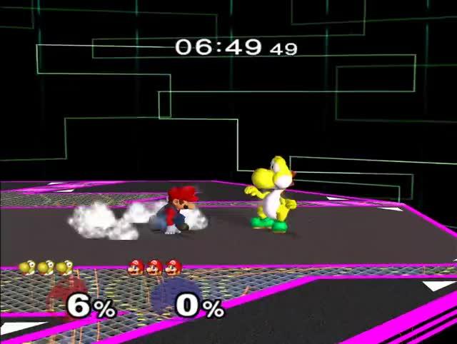 Watch and share Mario CG-edgeguard Sequence On Yoshi(FD) GIFs on Gfycat