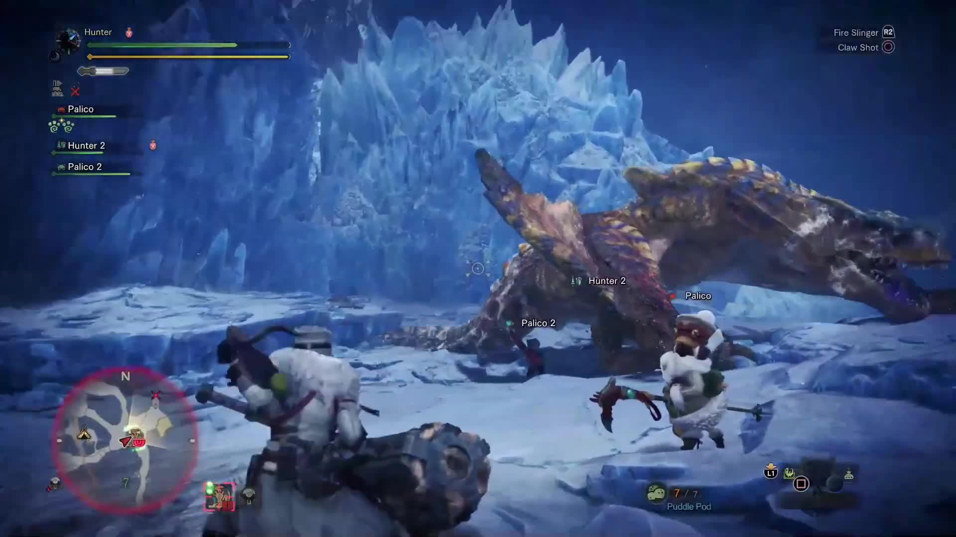 MHW ICEBORNE Tigrex Full Hunt E3 Demo
