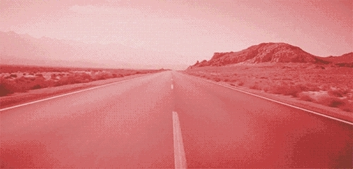 FOREVER ALONE, acid, alone, animated, colors, deepdream, desert, followforfollow, foreveralone, gif, highway, instant folllow back, lonely, love, love life, love quotes, road, my love life GIFs