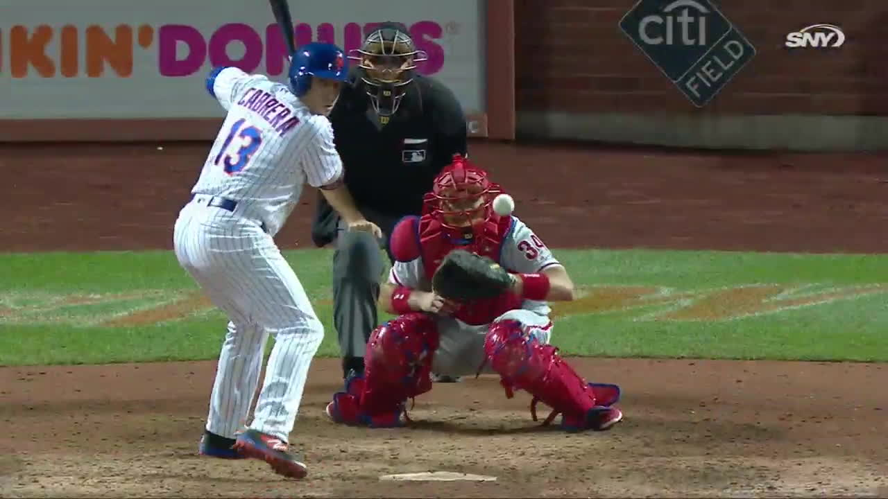 newyorkmets, Cabrera's walk-off home run GIFs