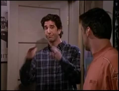 Watch this friends GIF on Gfycat. Discover more Down, Friends, Show, Sitcom, comedy, friends, quiet, quietdown, ross, ross geller, tv GIFs on Gfycat