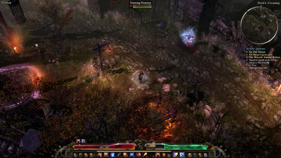 Grimdawn, grimdawn, Apparently you can use default weapon attack and a no recharge skill at the same time. (reddit) GIFs