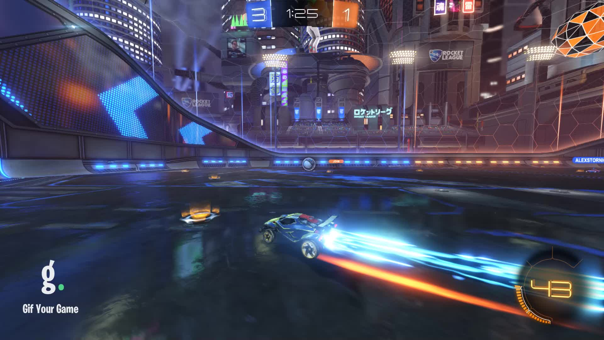 Gif Your Game, GifYourGame, ItWas...Justified, Rocket League, RocketLeague, Save, Save 4: ItWas...Justified GIFs