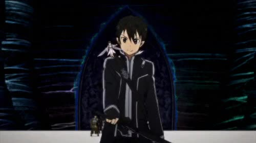 Watch this GIF on Gfycat. Discover more kirigaya kazuto, my gif1, sao, saogfx, sword art online GIFs on Gfycat