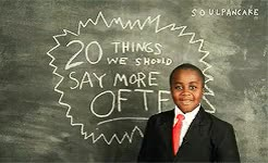 Watch and share Kid President GIFs and Inspiration GIFs on Gfycat