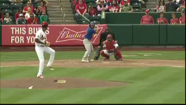 Watch Midland's Schrock smacks two-run homer GIF by Razzball (@razzball) on Gfycat. Discover more midland rockhounds, milb, springfield cardinals GIFs on Gfycat