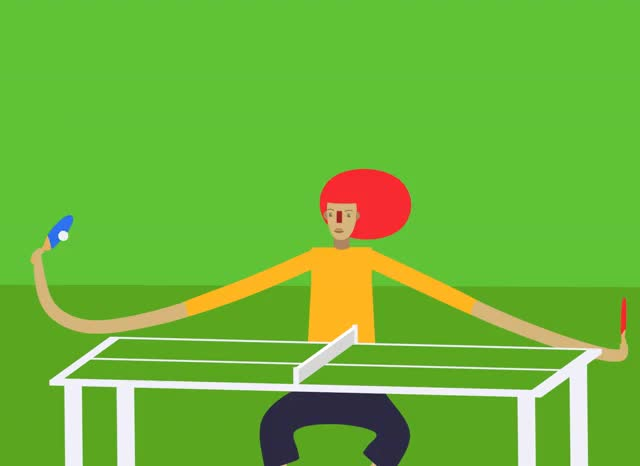 Watch extendable table tennis GIF on Gfycat. Discover more related GIFs on Gfycat