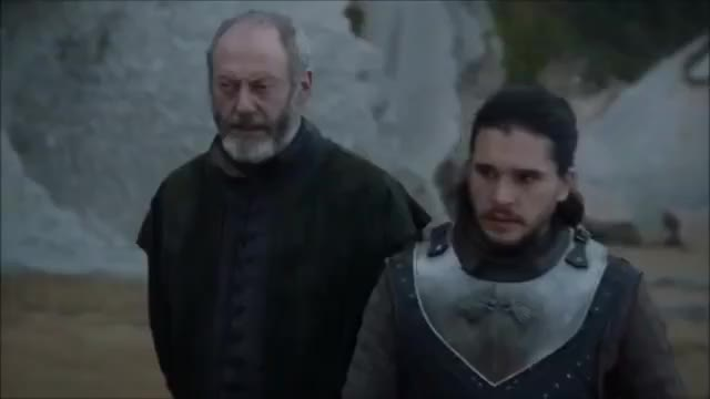 "Watch Game of Thrones 7x04 ""Jon Counsels Danaerys"" GIF on Gfycat. Discover more Dany, Drogon, celebs, davos, dragons, got, jon, kit harington, liam cunningham, messandae, tyrion GIFs on Gfycat"