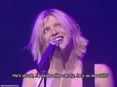 Watch and share Courtney Love GIFs and Guitarrist GIFs on Gfycat