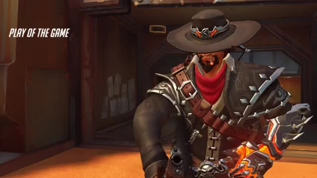 Watch and share Overwatch GIFs and Mccree GIFs by Chuck Okere on Gfycat