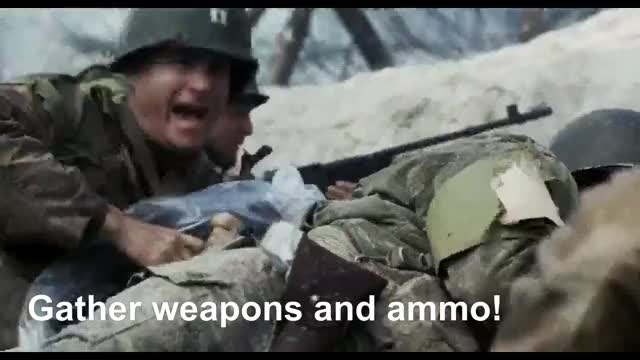 Watch and share Saving Private Ryan GIFs and War GIFs on Gfycat