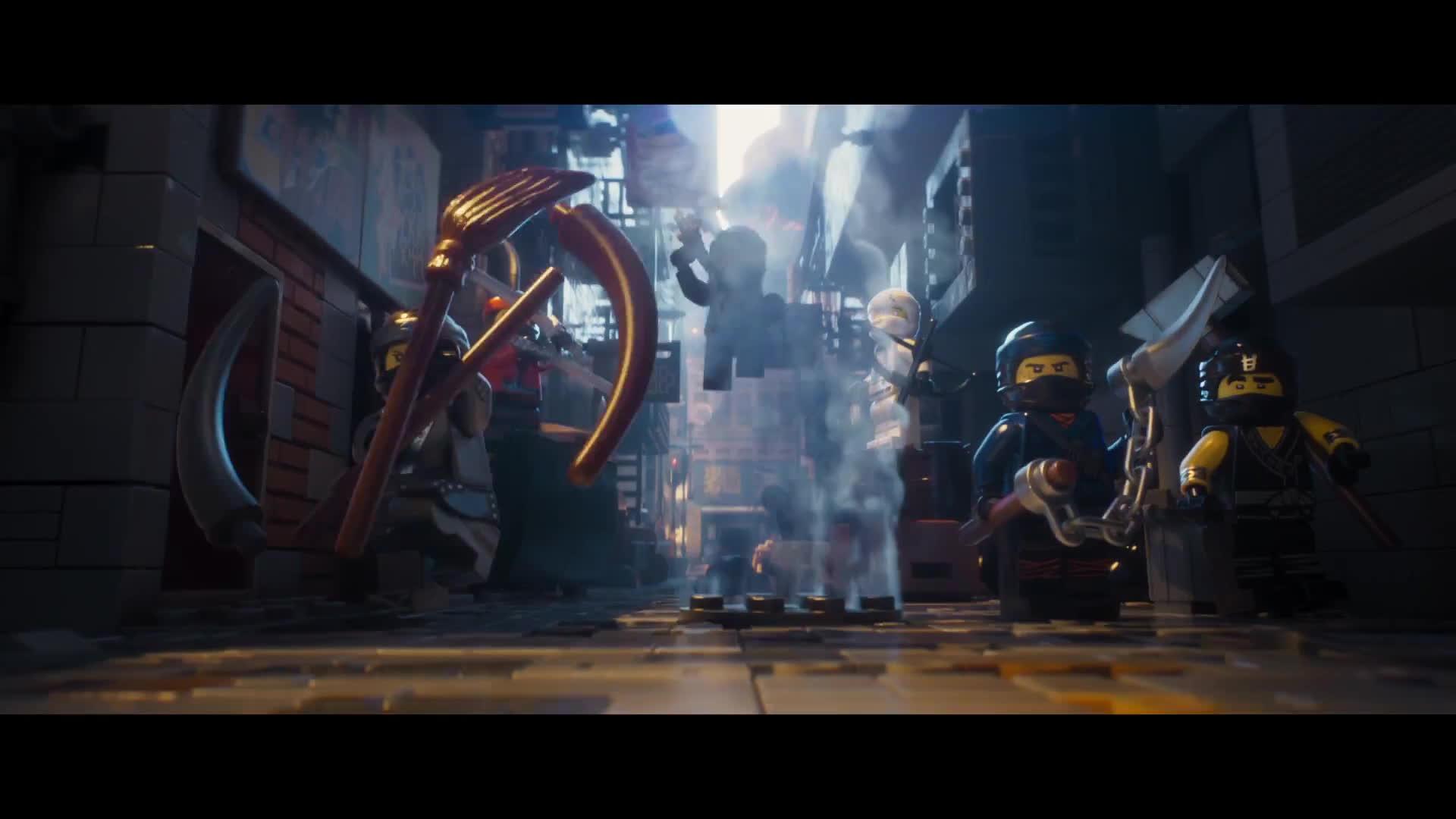 Cười té ghế với trailer mới nhất của siêu phẩm Lego Movie