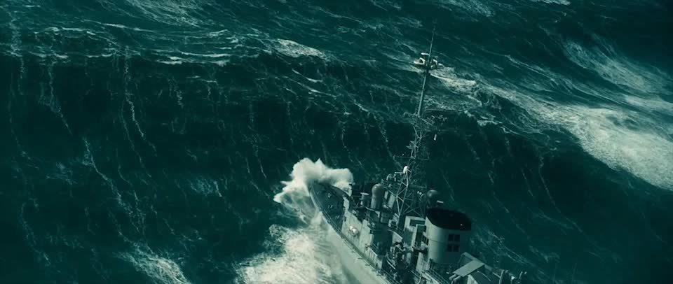 Destroyermen, HeavySeas, heavyseas, Heavy sea from the documentary called Oceans GIFs