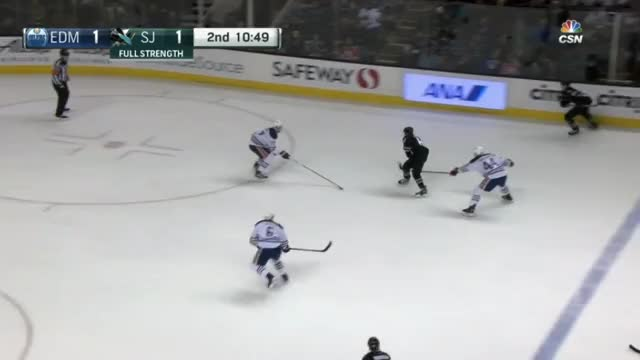 Watch and share Larsson Hits And Battles GIFs by cultofhockey on Gfycat
