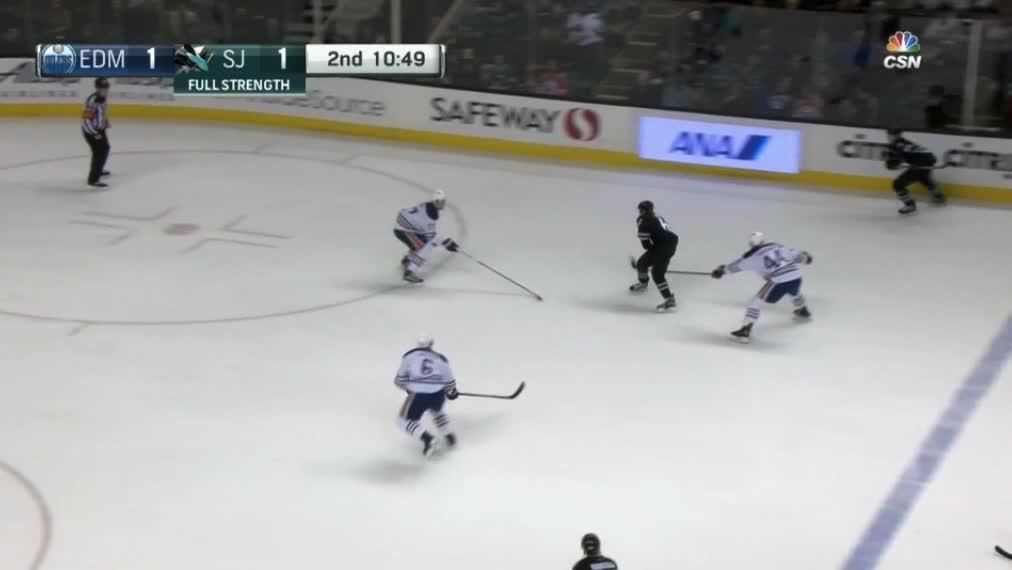 Larsson hits and battles GIFs