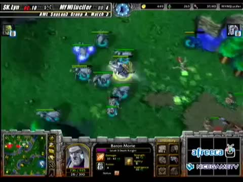Watch and share WC3 The Frozen Throne: MYM]Lucifer's Fiend Dodge (reddit) GIFs on Gfycat