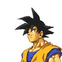 Watch and share Dragonball Gif San Goku Kame Hami Wave Photo: Goku Gif Goku_hairblow.gif GIFs on Gfycat