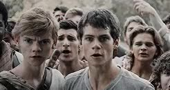 Watch and share The Maze Runner GIFs and Newt X Thomas GIFs on Gfycat